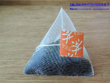 螺旋电子称尼龙三角袋茶叶包装机 screw electronic said nylon triangle tea bag packaging machine